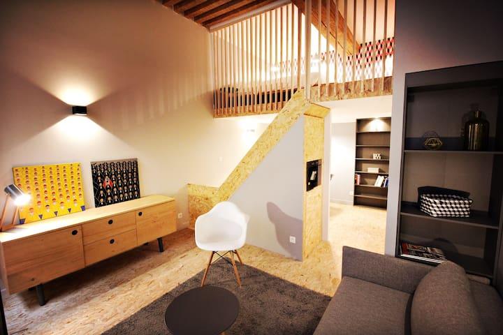 LOFT 2 DESIGN HOTEL DE VILLE - Lyon-1ER-Arrondissement - Loft