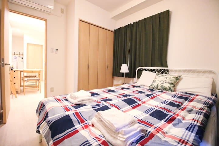 Uhome Kanda Hotel, one stop to Tokyo sta. KD301