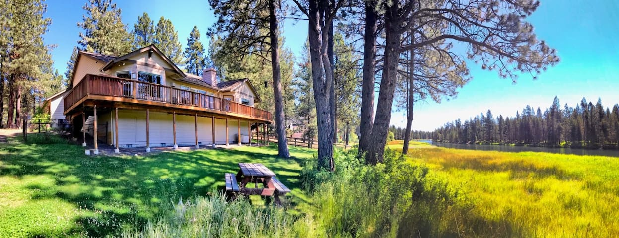 UPL170-Luxurious home on the Big Deschutes River!