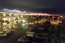 Watch the Sunset from the 3rd or 4th floor