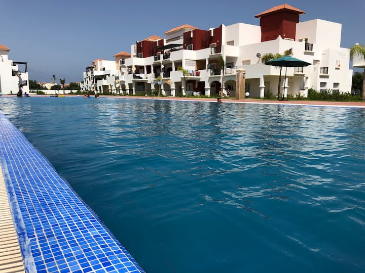 Appartement duplex haut standing Saidia Marina
