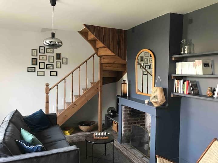 La petite maison Honfleur, au calme avec Jardin