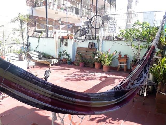 Carranza Style! Un oasis en la ciudad.