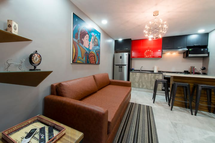ONCE21 Apartment Boutique 3 - Guadalajara - Wohnung