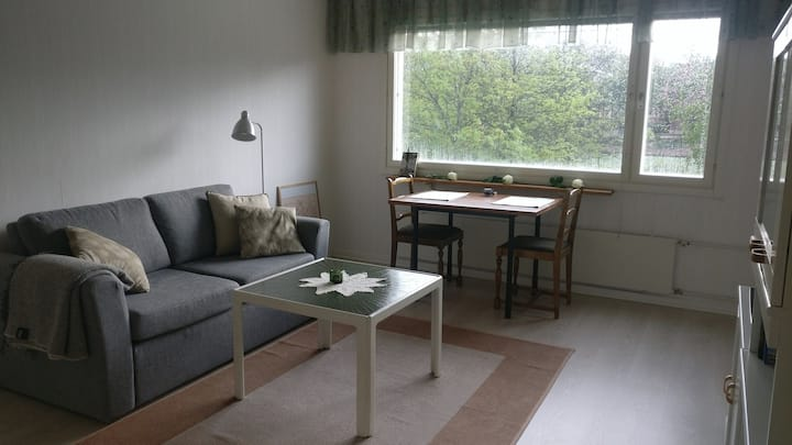 Apartment near the square in Vaasa