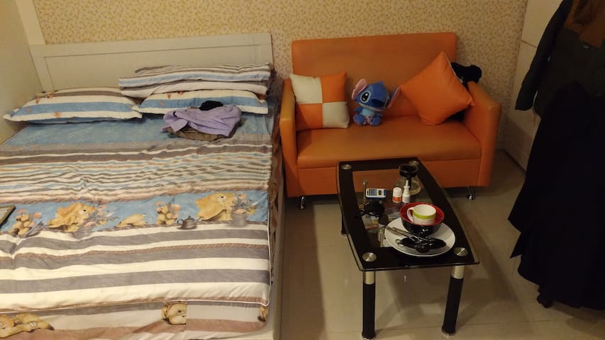 Cozy modern apartment near Taoyuan station - Taoyuan District - Apartment