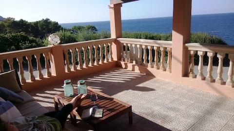 Can Llorens - amazing sea views!