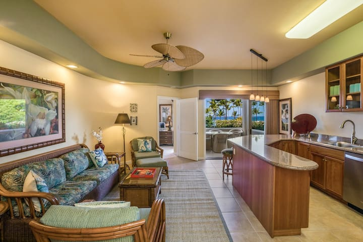 Beautiful Ocean Views at this Kahalu'u Beach Condo