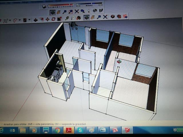 Habitación individual o compartida en Tocancipá