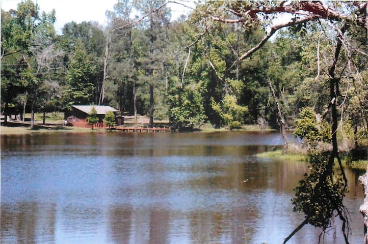 Nice Little Lake Cabin a Pleaser - Winnsboro