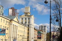 Zakhar VL/ Central point of the city