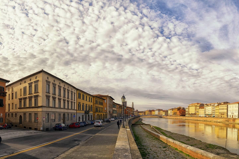 Lungarno Galilei - posizione dell'appartamento/apartment location