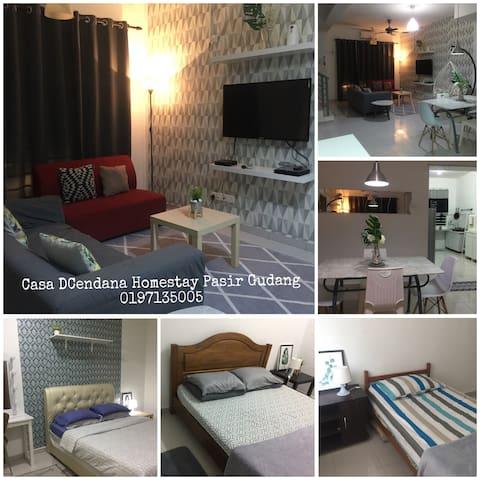 Casa DCendana Homestay Pasir Gudang