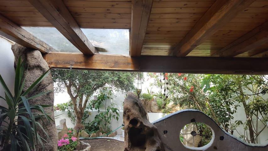 B&B Villa Orchidea camera con veranda