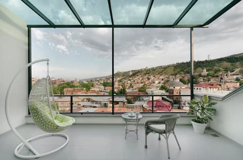 PREMIUM FLAT, OLD TBILISI, TERRACE & GORGEOUS VIEW