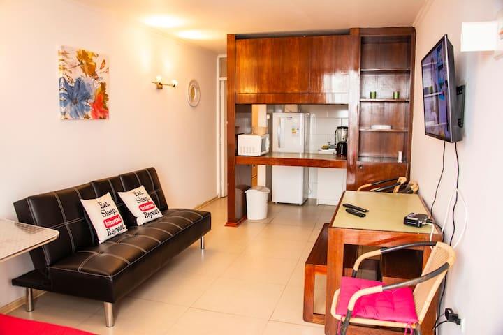 Apartamento en Reñaca frente al mar