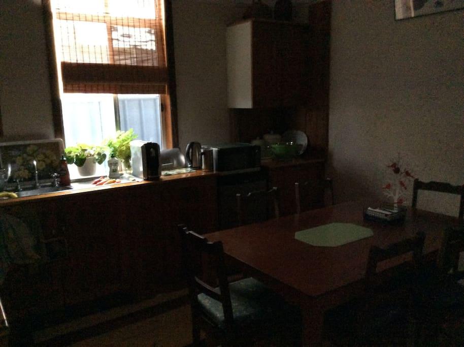 Cottage Kitchen plenty of appliances