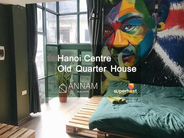 Annam2⭐️Amazing Balcony⭐️Super private/Old quarter