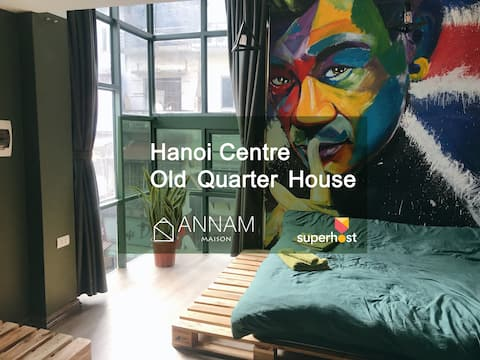 Annam★AmazingBalcony★SuperPrivate★Old quarter