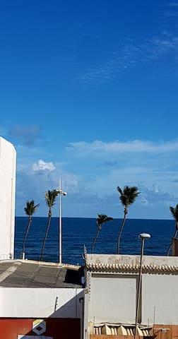 3/4 Mobiliado Frente ao Mar! - Salvador - Apartment