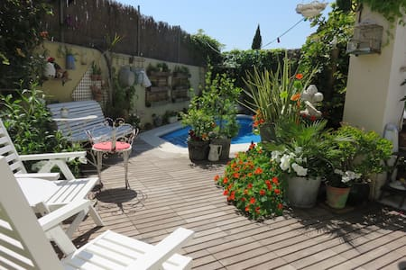 Calm Catalan style guesthouse near town and beach1 - Les Torres - Bed & Breakfast