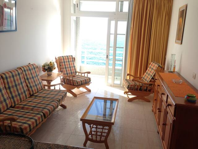 Double room with sea view - Los Abrigos - Apartamento