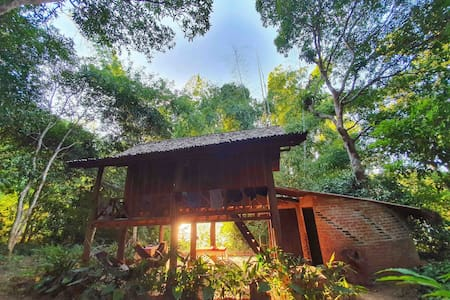Off Grid Jungle Farmstay at Mekong Eden Farm