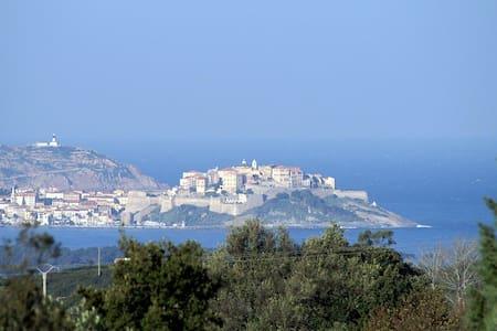 casa albitru,  region de calvi - Calenzana