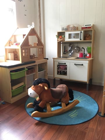 NEW! we have a play area for your little ones!