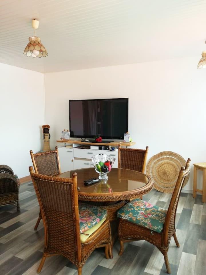 Bel appartement T2 dans villa en Martinique
