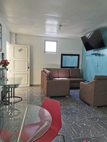 Apartments 'Casa Blanca' 501, (Iquitos Center)
