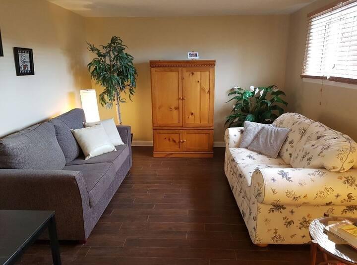 Logement entier simple, cozy et familial