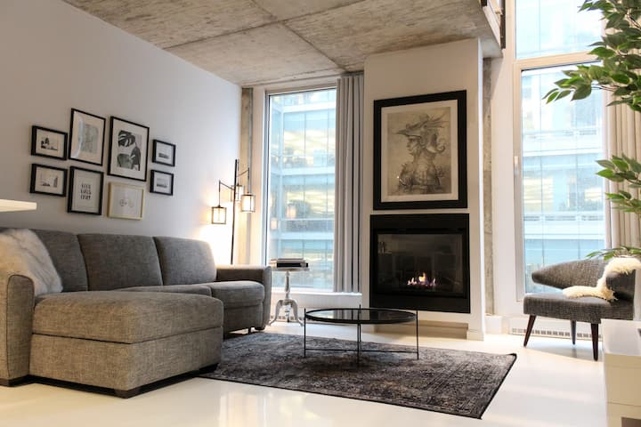 Urban and Chic Loft Montreal (Monthly basis only)