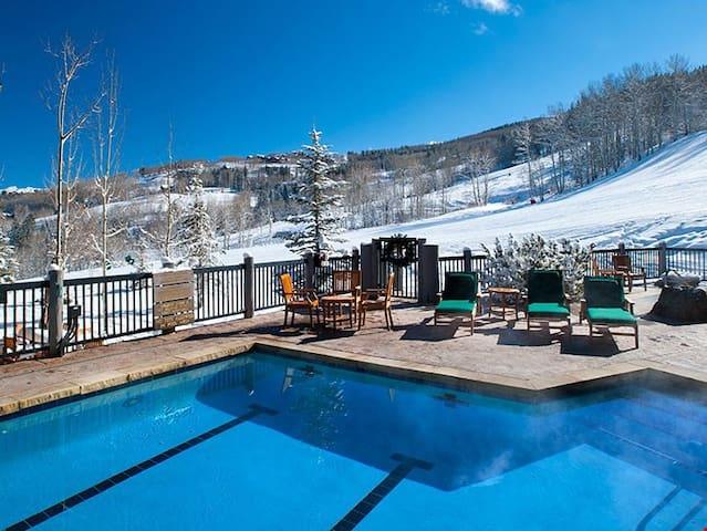 Exquisite Condo with Exclusive Ski-in/Ski-out Access + Gas Fireplace