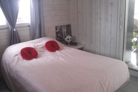 Charmante petite chambre type studio avec cuisine - Carbonne - Huis