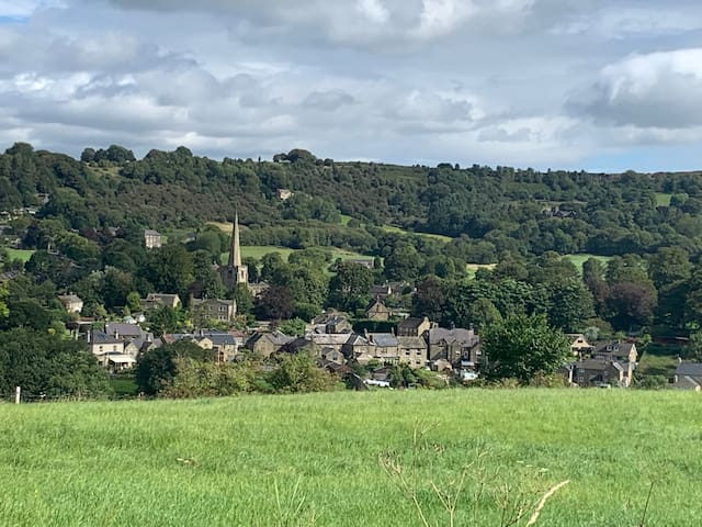 a peaceful stay with great views, great walks