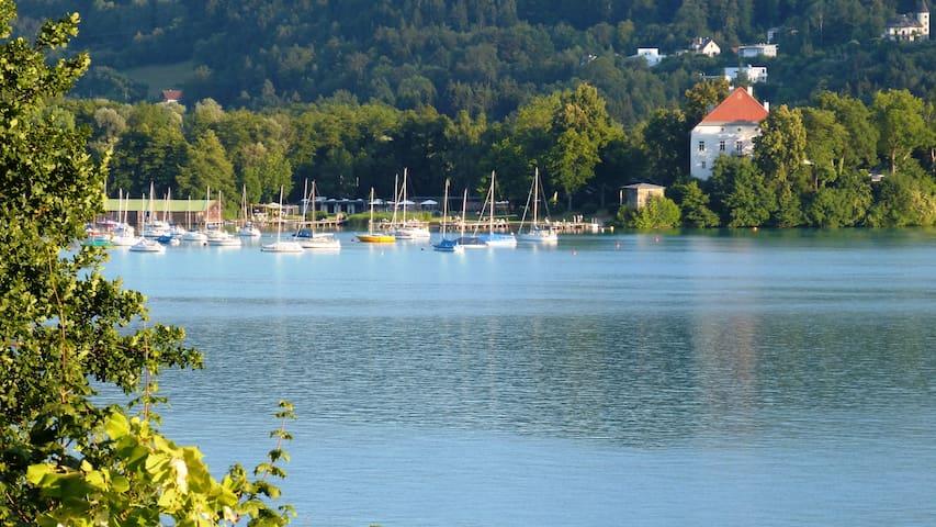 .....ruhig und in der Mitte von Klagenfurt