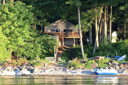 Maple Cottage on Secret Cove, nestled in Parkland