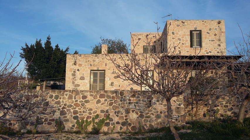 Farmhouse - Egina - Earth House