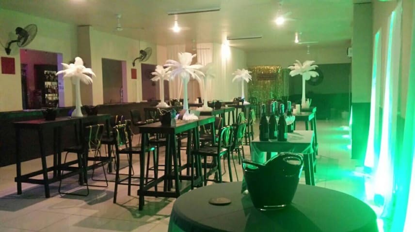 Ace of Clubs Bar in Apia