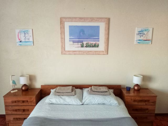 Double Room With Balcony - Blue Beach Guesthouse
