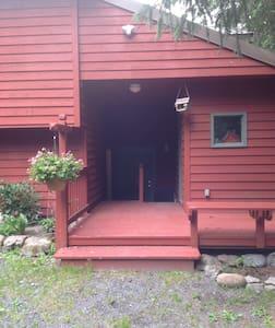 Studio apartment w/private entrance and bathroom. - 수어드(Seward)