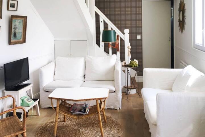 jolie maison proche et vue mer - Blonville-sur-Mer - Casa