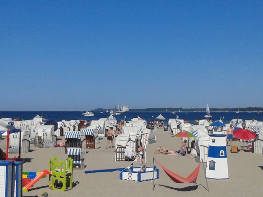 Badestrand in Travemünde