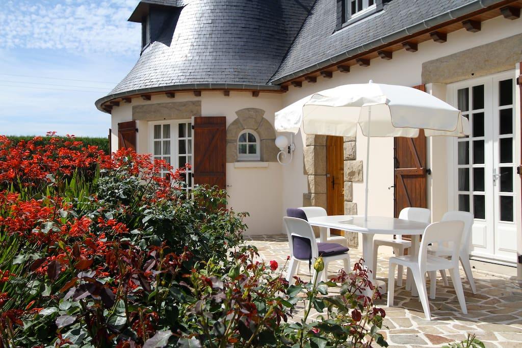 Terrasse privative Villa Saint malo
