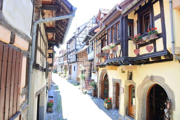 Eguisheim- Gite tout confort 3 - Centre village