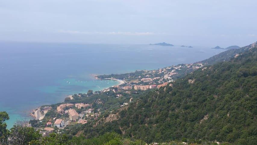 Superbe T2 vue mer avec piscine - Ajaccio - อพาร์ทเมนท์