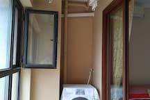 阳台洗衣机晾衣架