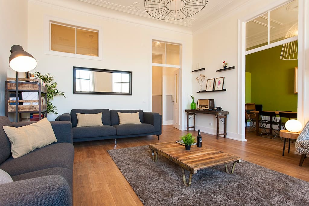 Living room: 2 sofa-bed for 1 (sleep 2)