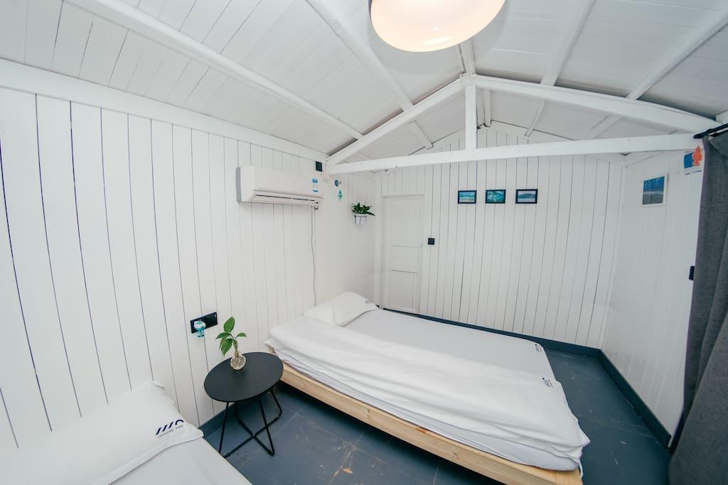 双床房 1.2m x 2